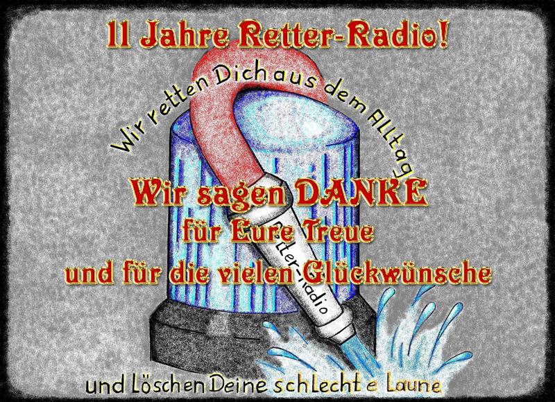 Wir feiern 11 Jahre Retter-Radio